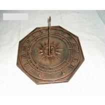 Octagonal Shape Sundial