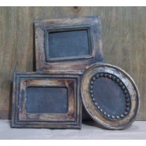 "4'' x 4""Old Style Wooden Decorate Shape Photo Frames"