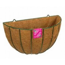 Old Wall Basket Green 40 cm