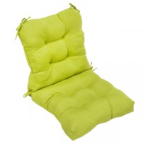 Olive Green Durable Back Chair Cushion