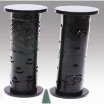 Om Smoking Bottle Black