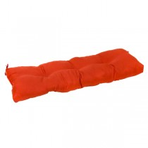 Orange 51 Inch Polyester Cushion