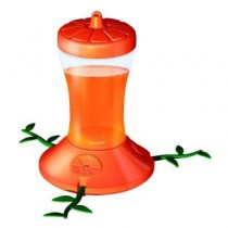 Orange Slice Shaped Plastic Bird Feeder