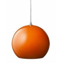 Orange Topan Pendant Light