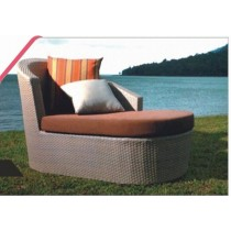 Outdoor Pool Side Lounger With Cushion