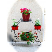 Oval Shape Floor Planter Stand