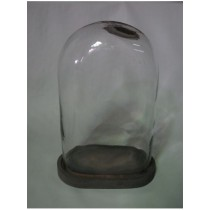 Oval Shaped  Candle Holder  Size -11X8X15