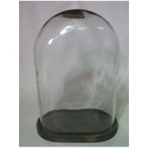 Oval Shaped  Candle Holder  Size -13X9X17.50