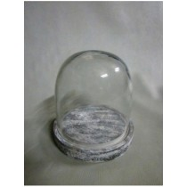 Oval Shaped  Candle Holder  Size -4.75X4.75X5
