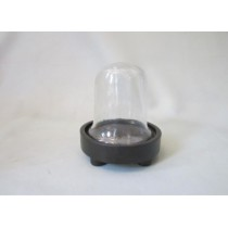 Oval Shaped  Candle Holder  Size -  4.50X4.50X5