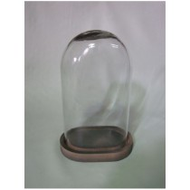 Oval Shaped  Candle Holder  Size - 8X5.50X12