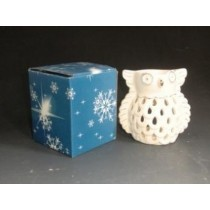 Owl Shaped Decorative Ceramic  Oil Burner