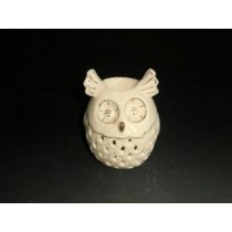 Owl Shaped Decorative Ceramic Oil Burner(L 9.3 X W 9.3 X H 11 CM)