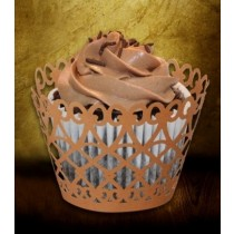 Paisley Cup Cake Wrapper