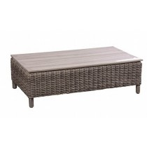 PE Rattan Brown Coffee Table