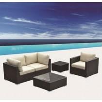 PE Rattan Classic Design Corner Sofa Set