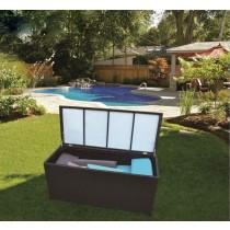 PE Rattan Cushion Storage Box