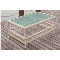 PE Rattan Rectangle Shape Coffee Table