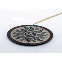Pentagram Black Incense Stick Holder