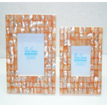 Photo Frame (coloured mother of Pearl),Size 7 X 5 Inches