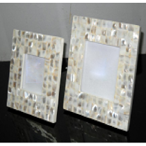 Photo Frame (mother of Pearl), 4 X 4""