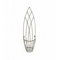 Pineapple Planter Shape Iron Wall Basket