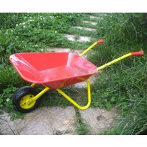 Pink colored Single Wheel barrow