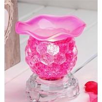 Pink Crystal Aroma Lamp