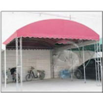 Pink Iron Space Frame Tent