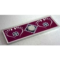 Pink Traditional Design Candle Holder