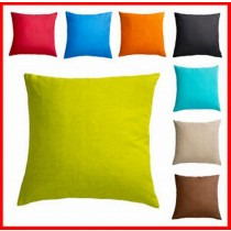 Plain Colored Cushion Cover
