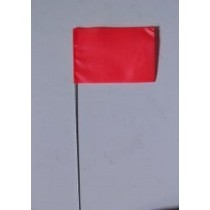 "Plain Red  Flag (4"" X 5"" X 36"")"