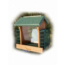 Plastic Bird Feeder With Suet Cages