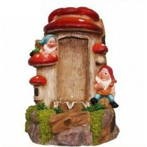 Playing Two Gnome Water Garden Fountain