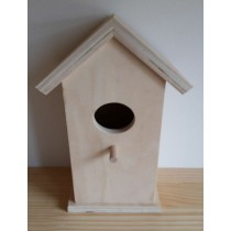 Plywood Bird House