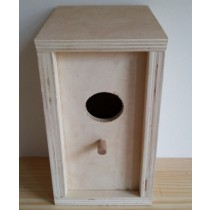 Plywood Decorative Bird House