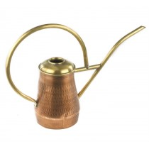 Polished Brass Handle Classic Copper Watering Can