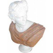 Pure White Marble Sculpture of a lady, height 60cm