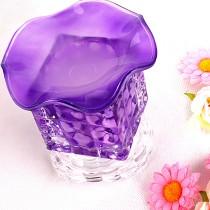 Purple Crystal Aroma Lamp