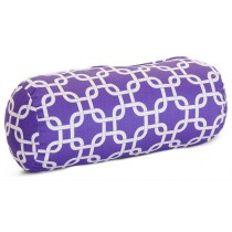 Purple Links Round 8 Inch Cushion