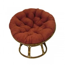 Red 48 Inch Papasan Lounge Chair Cushion