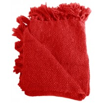 Red 50 X 70 Inch Throw