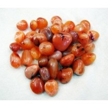 Red Carnelian Tumbled Pebbles