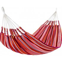 Red Cotton Acrylic Striped Hammocks
