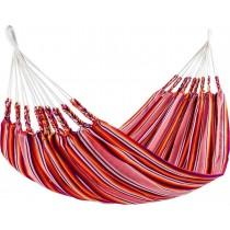 Red Cotton Acrylic Striped Hammocks