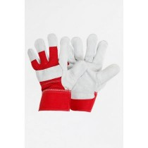 Reinforced Red Garden Gloves