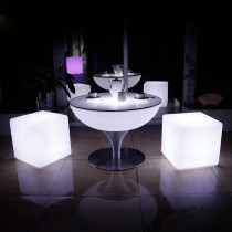 Remote Control 16 Color Changing LED Bar Table