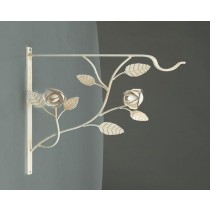 Rose Wall  Hooks For Baskets