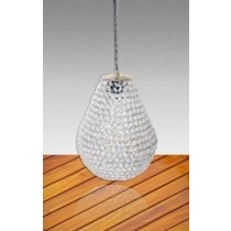 Round Crystal Pendant Lamp