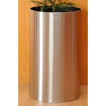 Round Metal Flower Planter